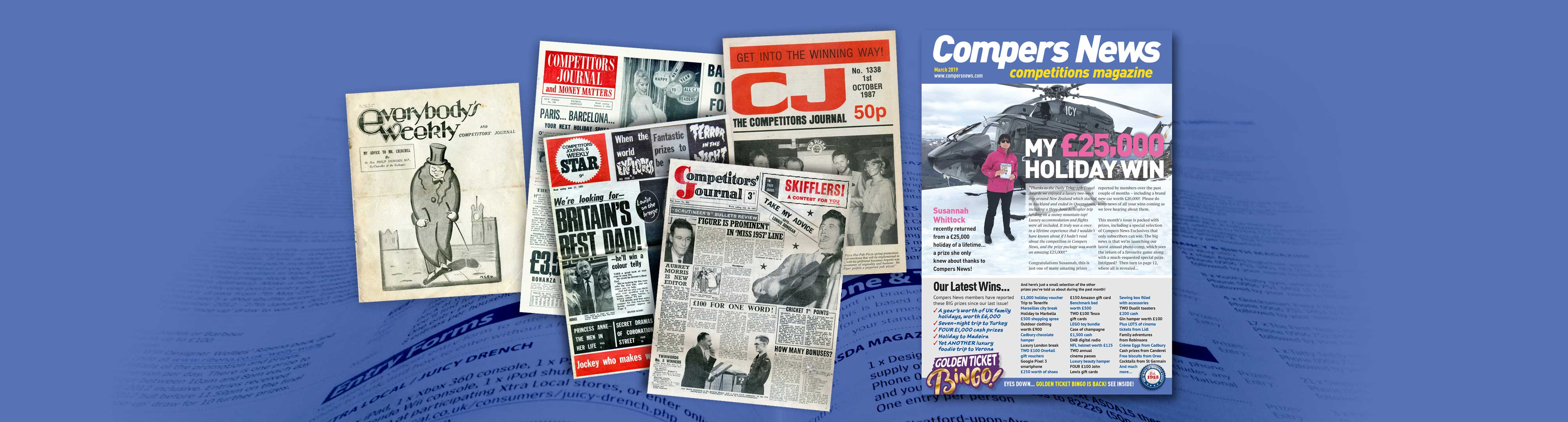 Compers News magazine