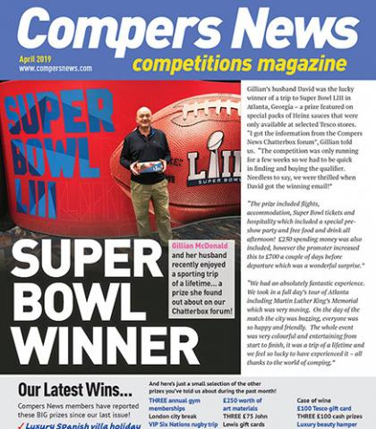 Our Compers News Winners | Compers News - The competitions